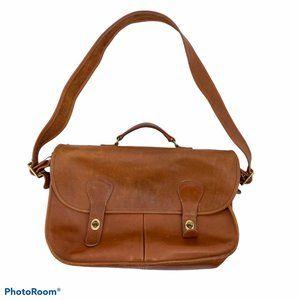 Vintage Coach leather messenger bag brief case